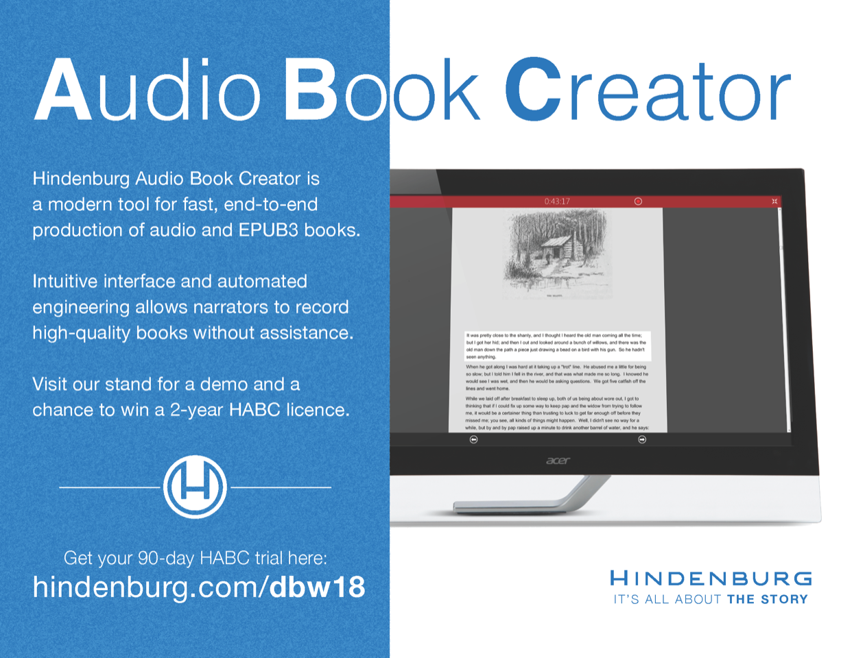Digital Book World 2018: Hindenburg Systems - Brochures
