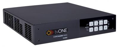 ISE 2017: TVOne launches CORIOmaster micro Processor and Edge-blender